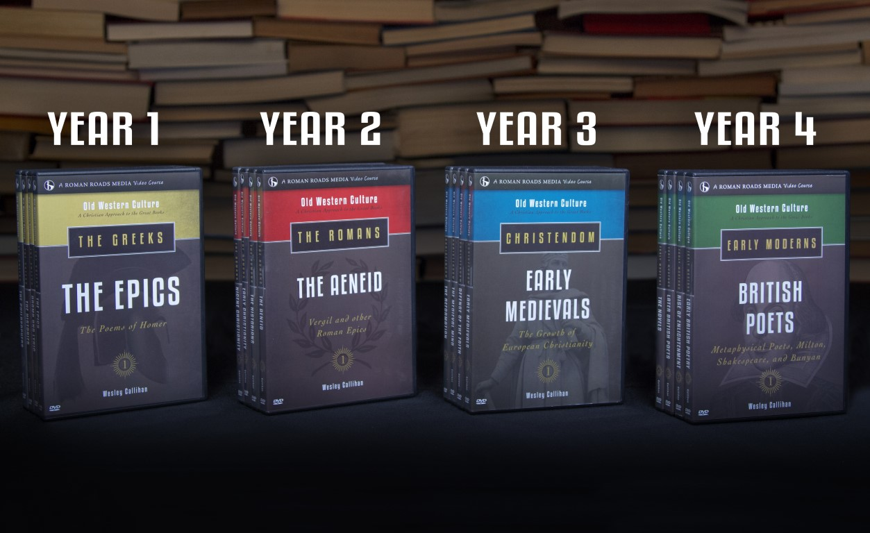 4 years of Old Western Culture DVDs