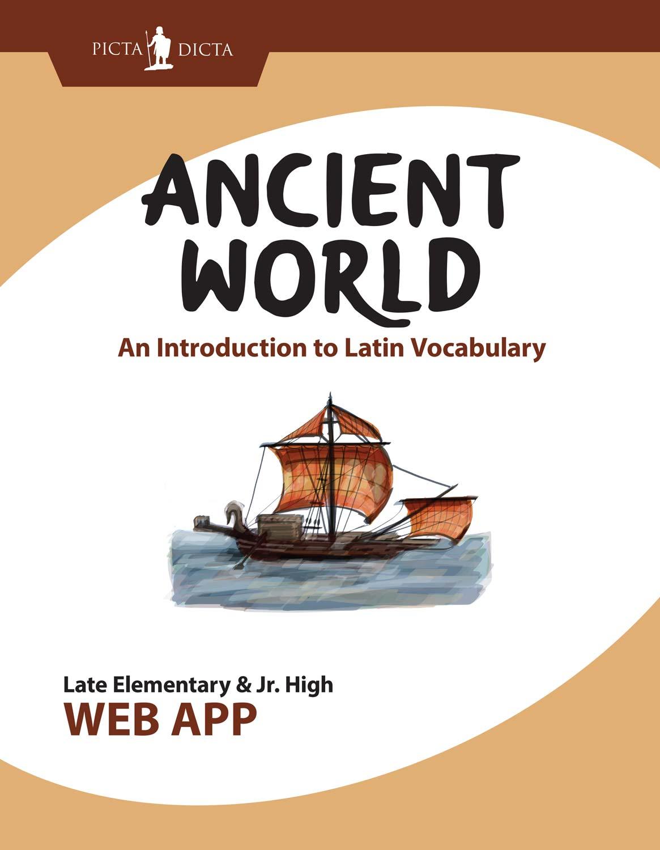 Picta Dicta Ancient World Graphic