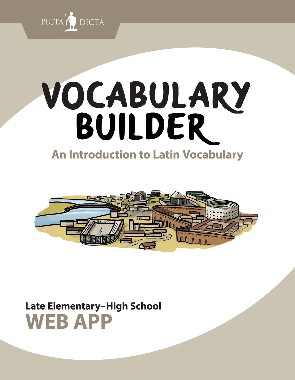 Picta Dicta Vocabulary Builder Graphic