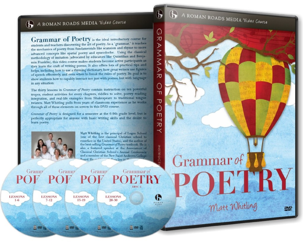 Grammar of Poetry video course by Roman Roads Media