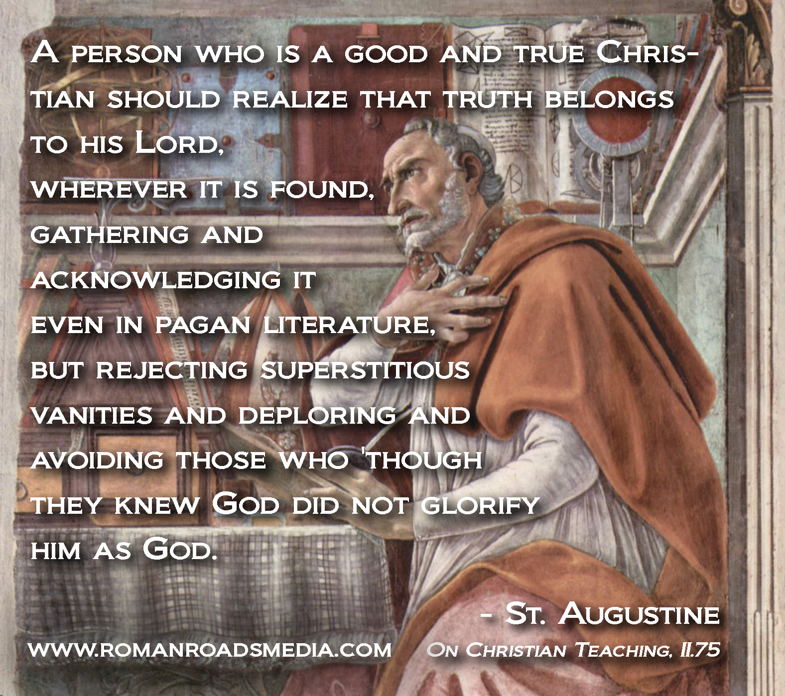 the hidden truth in st augustines confessions The will in augustine's confessions: st augustine illuminates the subject of that remains profound and hidden, full of surprises like augustine's.