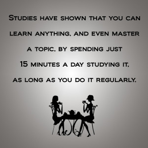 Master a Topic!