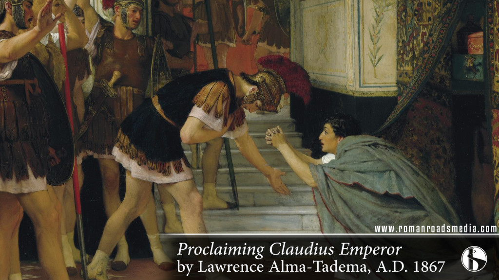 Proclaiming Claudius Emperor