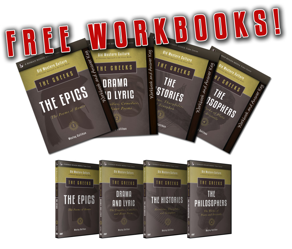 FREE Workbook with purchase of The Greeks! – Roman Roads Media