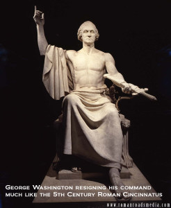 12 ton statue of George Washington by Horatio Greenough