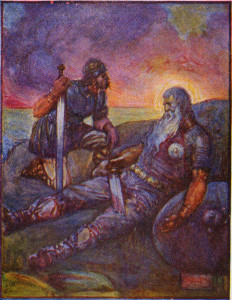 Gǣð ā Wyrd swā hīo scel! Fate goes ever as it must. ~ Beowulf~