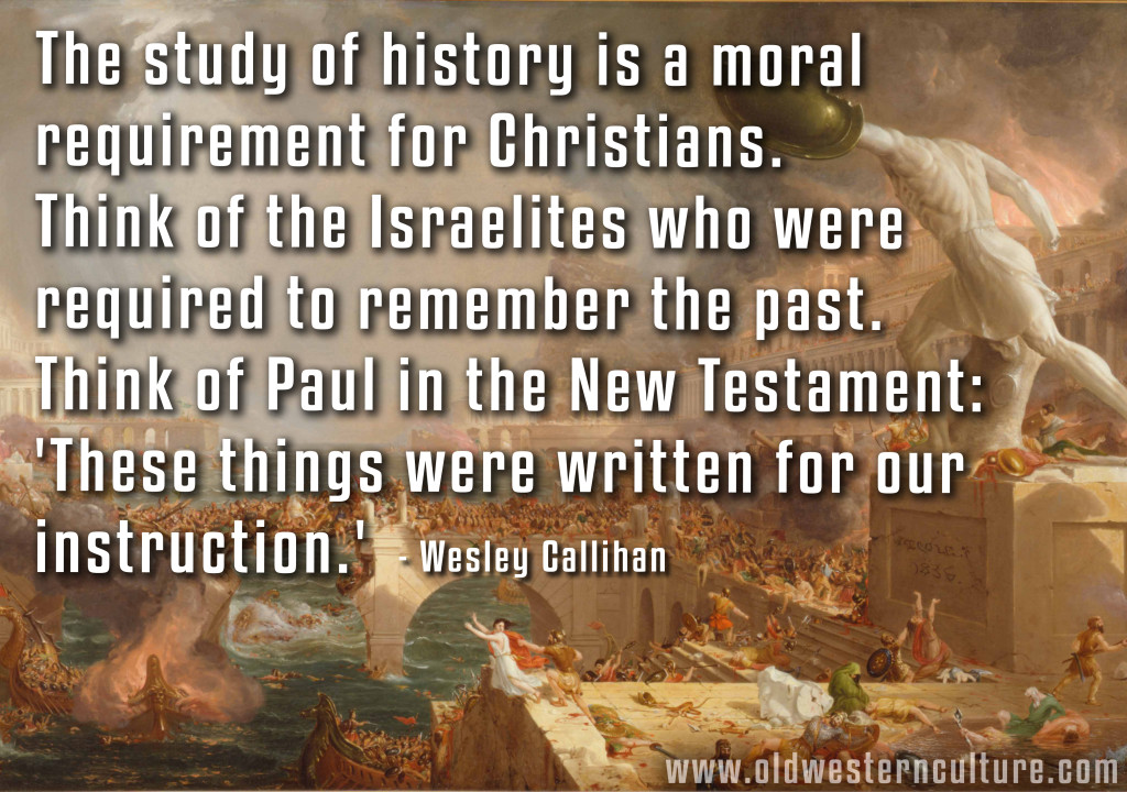 History: A Moral Obligation