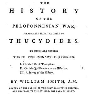Thucydides by William Smith, AM