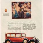 The Vestal Virgins keep the eternal flame going--and preside over Packard Cars