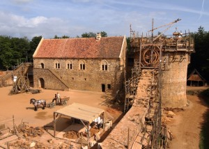 Guédelon: One Man's Castle in the Sky Gets Down-to-Earth