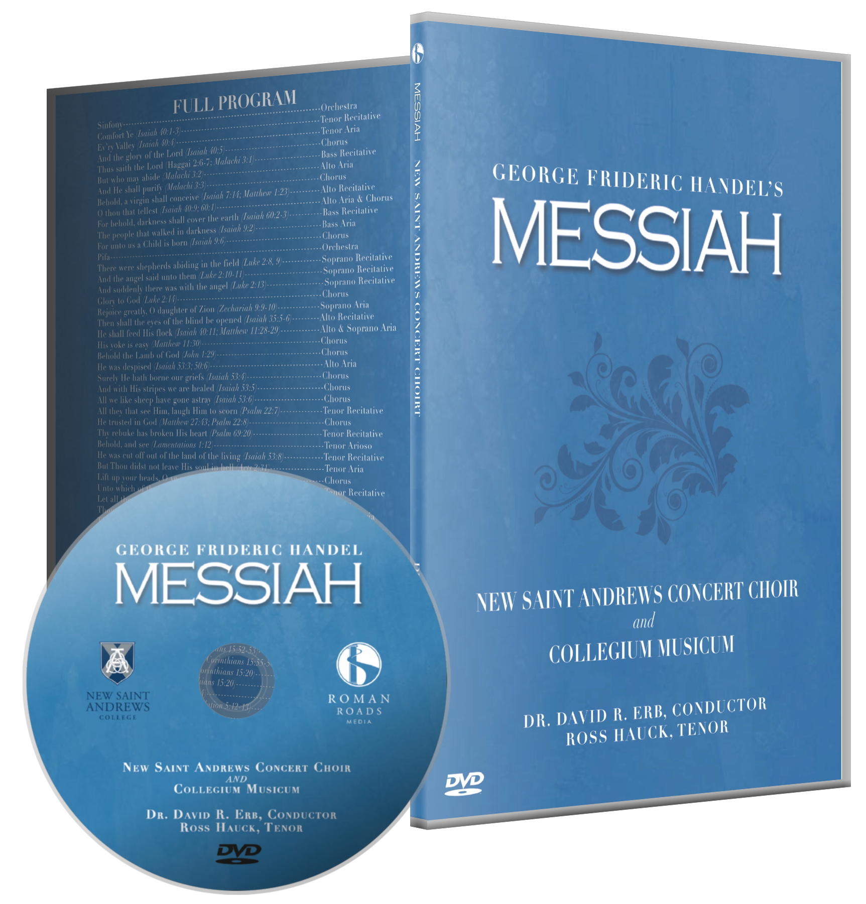 Handle's Messiah DVD case