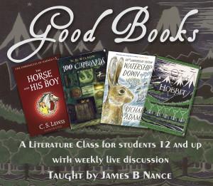 Good Books main course graphic