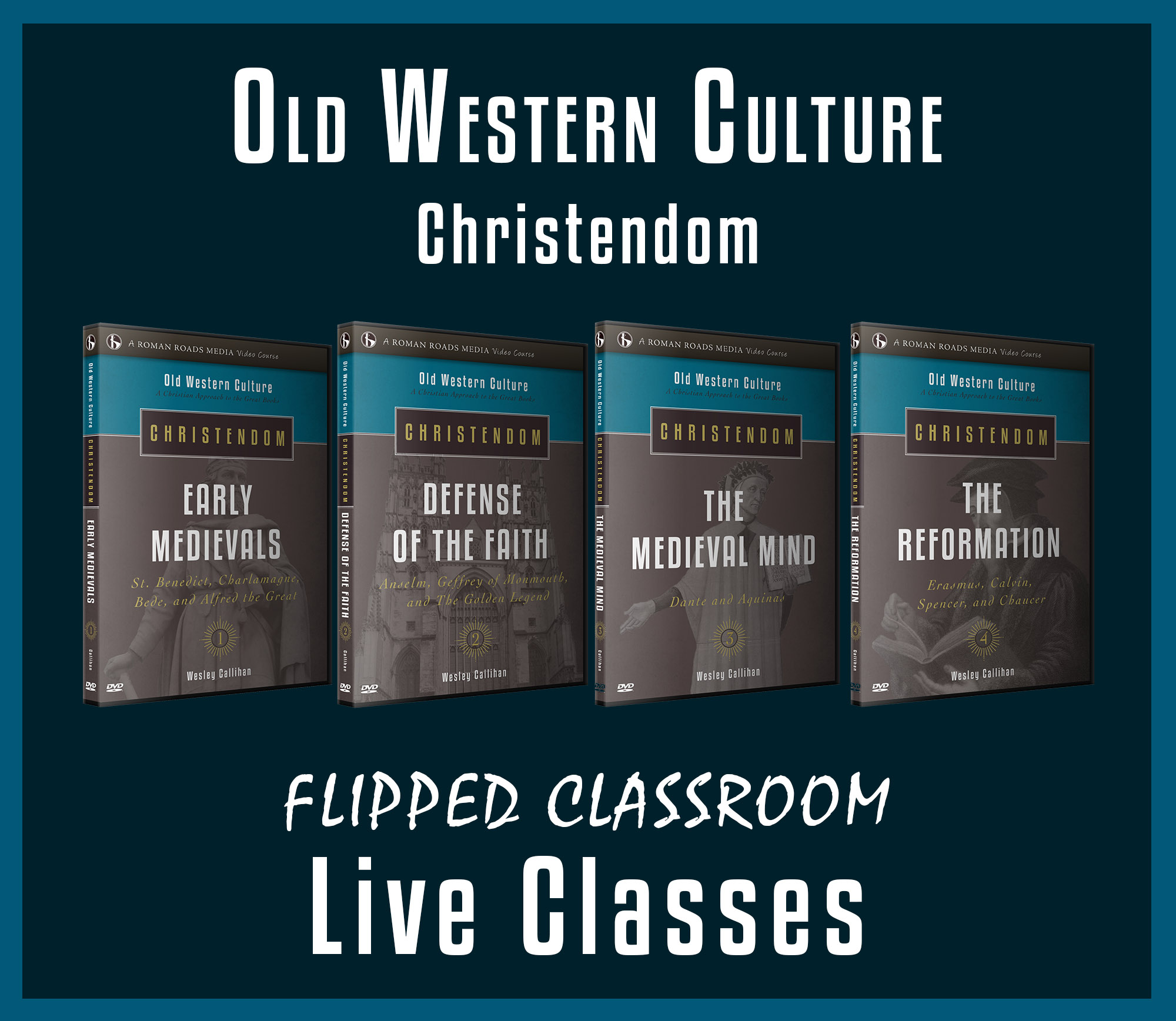 Old Western Culture The Romans Live Graphic