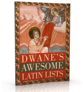 dwanes-awesome-latin-lists