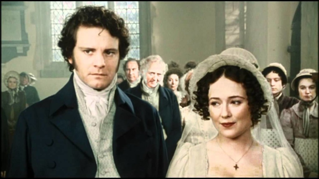Lizzy and Mr. Darcy finally marry