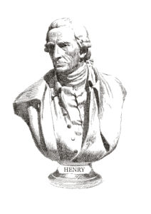 "One of the 30 Famous Orators highlighted in Fitting Words. Patrick Henry (1736–1799). Henry was American founding father, orator, and governor of Virginia who advocated anti-federalism. ""I know not what course others may take; but as for me, give me liberty, or give me death!""—""Give Me Liberty"""