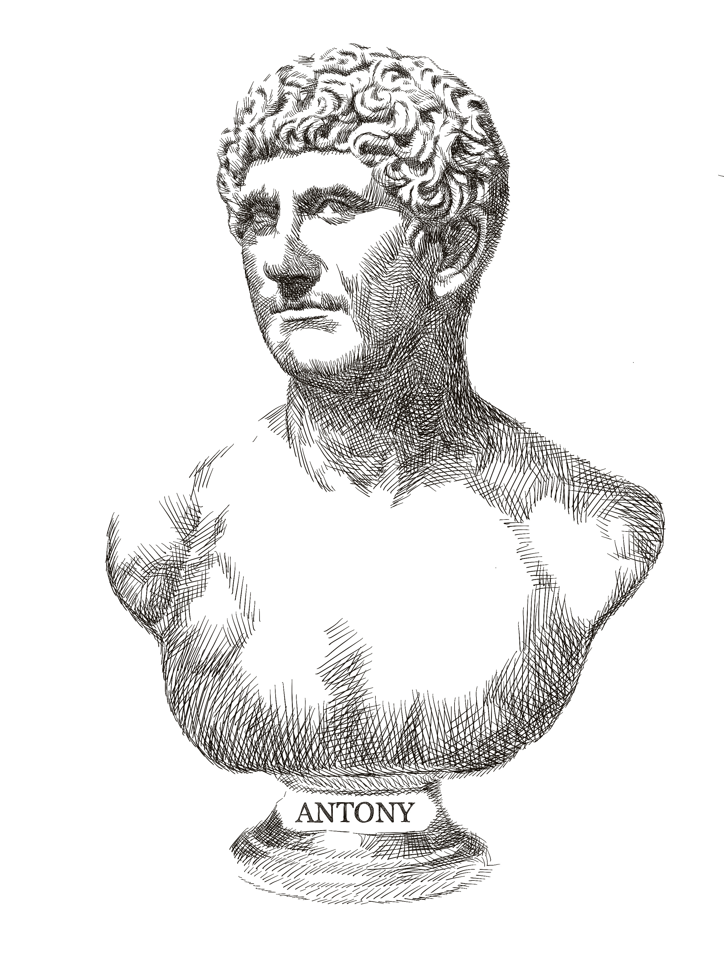 a biography of marc anthony a roman statesman