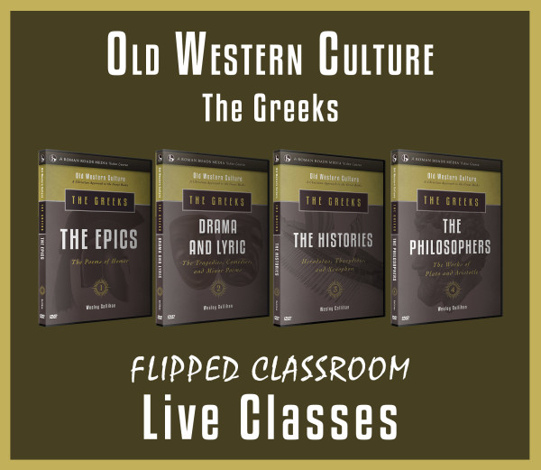 Old Western Culture The Greeks Live Graphic