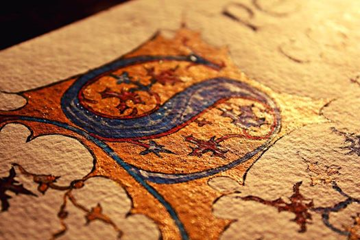 Arteries of ink and veins of gold