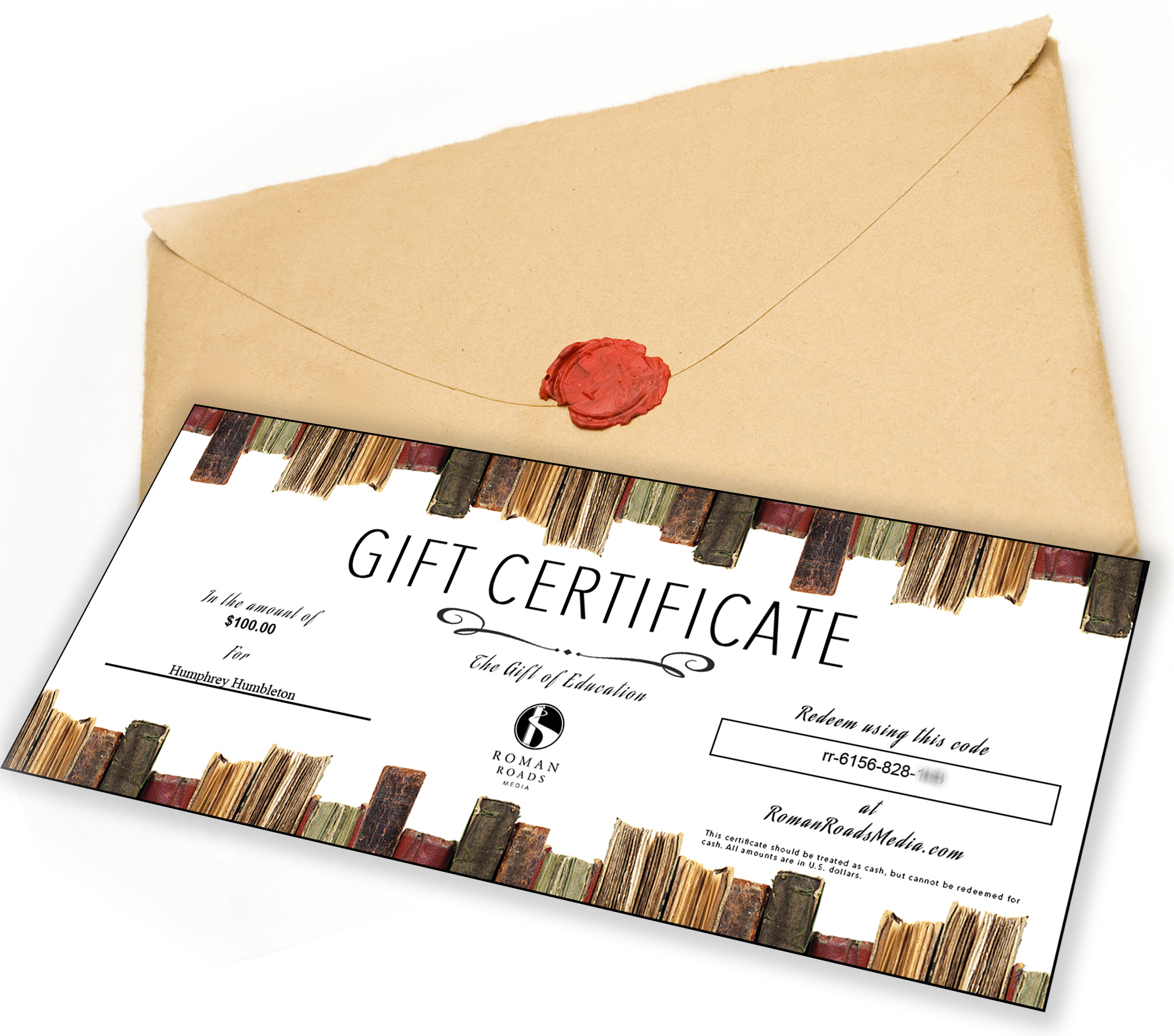 Gift Certificate Image
