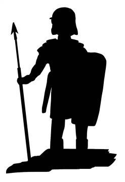 Picta Dicta Logo soldier