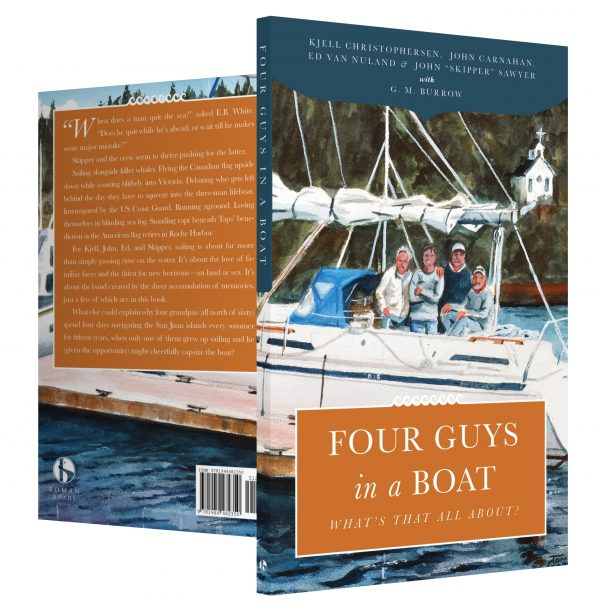 Four Guys in a Boat Cover